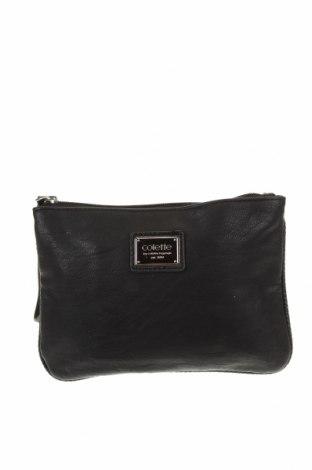 Γυναικεία τσάντα Colette By Colette Hayman, Χρώμα Μαύρο, Δερματίνη, Τιμή 12,67€