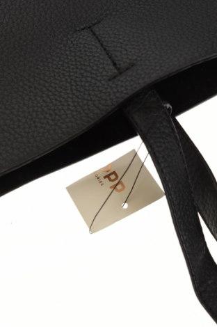 Γυναικεία τσάντα Cropp, Χρώμα Μαύρο, Δερματίνη, Τιμή 26,68€