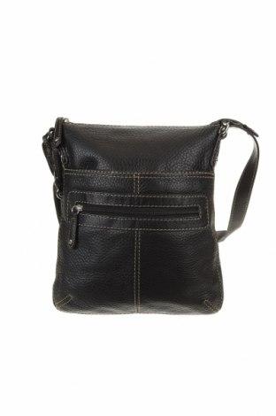 Дамска чанта Fossil, Цвят Черен, Естествена кожа, Цена 61,85лв.