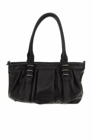 Дамска чанта Fritzi Aus Preussen, Цвят Черен, Еко кожа, Цена 22,10лв.