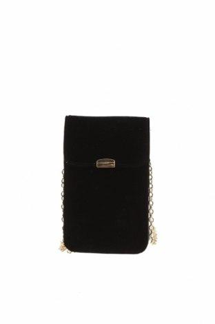 Γυναικεία τσάντα Hallhuber, Χρώμα Μαύρο, Κλωστοϋφαντουργικά προϊόντα, Τιμή 9,94€