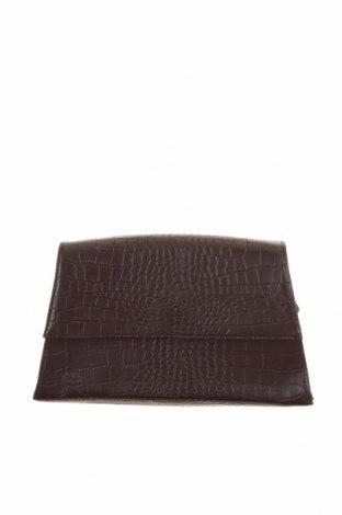 Дамска чанта In Wear, Цвят Кафяв, Еко кожа, Цена 24,48лв.