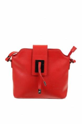 Γυναικεία τσάντα Jean-Louis Scherrer, Χρώμα Κόκκινο, Γνήσιο δέρμα, Τιμή 38,04€