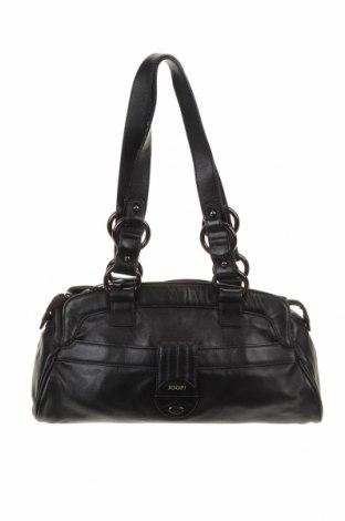 Γυναικεία τσάντα Joop!, Χρώμα Μαύρο, Γνήσιο δέρμα, Τιμή 67,55€
