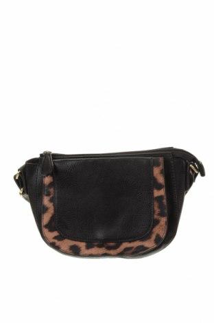 Γυναικεία τσάντα Laura Jones, Χρώμα Μαύρο, Δερματίνη, Τιμή 12,86€
