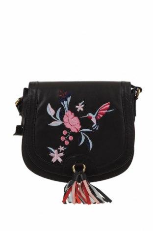 Дамска чанта Louche, Цвят Черен, Естествена кожа, Цена 37,80лв.