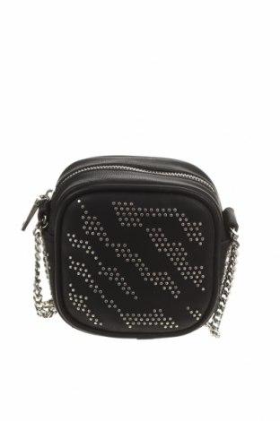 Дамска чанта Mango, Цвят Черен, Еко кожа, Цена 36,75лв.