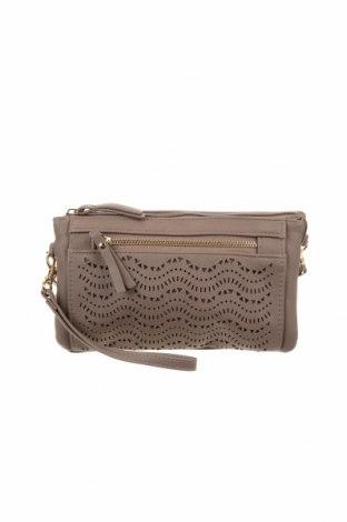 Дамска чанта Marikai, Цвят Бежов, Еко кожа, Цена 21,42лв.