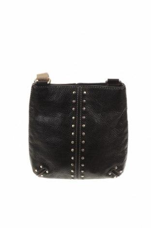 Дамска чанта Michael Kors, Цвят Черен, Естествена кожа, Цена 90,72лв.