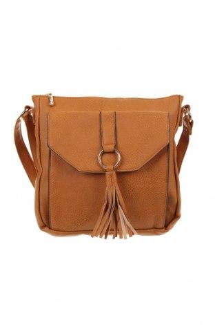 Дамска чанта Millers, Цвят Кафяв, Еко кожа, Цена 27,30лв.