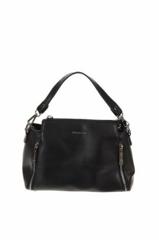 Γυναικεία τσάντα Mocha, Χρώμα Μαύρο, Δερματίνη, Τιμή 32,08€