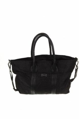 Дамска чанта Oroton, Цвят Черен, Текстил, Цена 28,56лв.