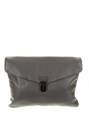 Дамска чанта Oroton, Цвят Сив, Естествена кожа, Цена 74,76лв.