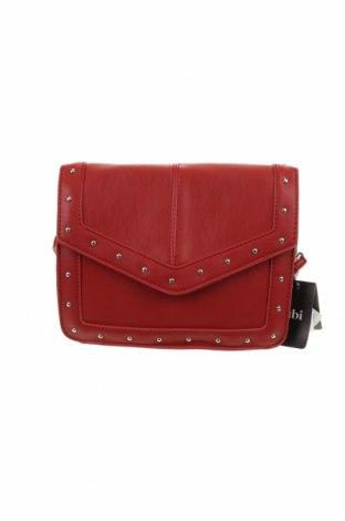 Дамска чанта Rubi, Цвят Червен, Еко кожа, Цена 34,81лв.