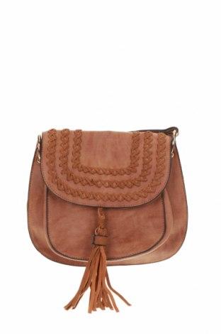Γυναικεία τσάντα Sportsgirl, Χρώμα Καφέ, Δερματίνη, Τιμή 13,64€