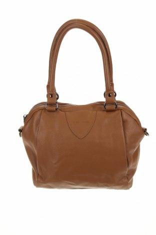 Γυναικεία τσάντα Status Anxiety, Χρώμα Καφέ, Γνήσιο δέρμα, Τιμή 28,39€