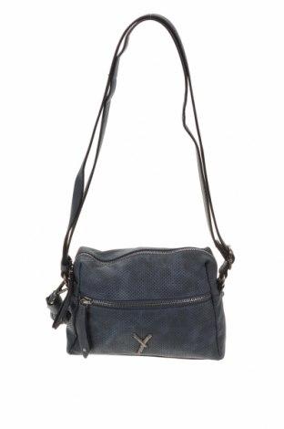 Γυναικεία τσάντα Suri Frey, Χρώμα Μπλέ, Δερματίνη, Τιμή 15,59€