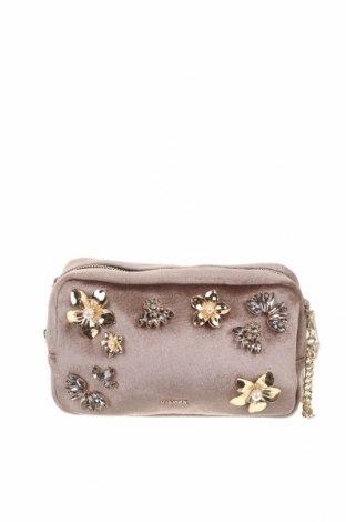 Dámská kabelka  Uterque, Barva Popelavě růžová, Textile , Cena  825,00Kč