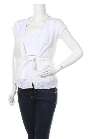 Дамска жилетка, Размер M, Цвят Бял, Цена 6,56лв.