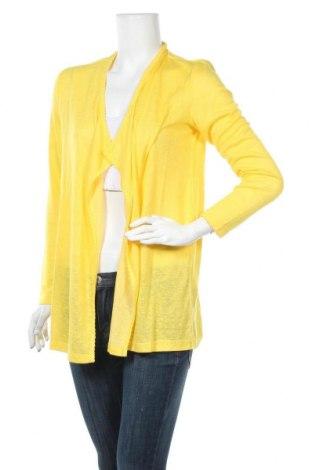Дамска жилетка Betty & Co, Размер S, Цвят Жълт, 65% вискоза, 35% полиестер, Цена 19,20лв.