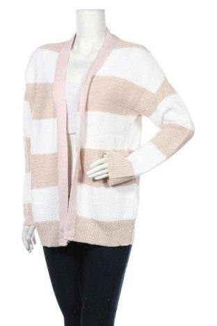 Дамска жилетка Bewear, Размер M, Цвят Розов, 90% акрил, 10% полиестер, Цена 13,92лв.