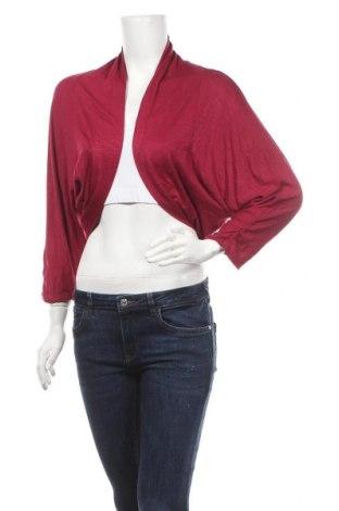 Дамска жилетка Casual Clothing, Размер L, Цвят Червен, 95% вискоза, 5% еластан, Цена 5,99лв.