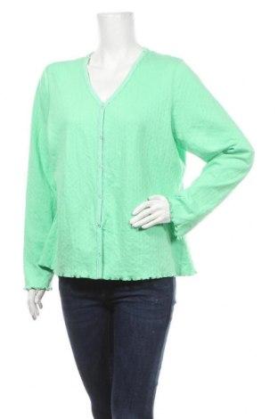 Γυναικεία ζακέτα Denim Co, Μέγεθος L, Χρώμα Πράσινο, Βαμβάκι, Τιμή 15,59€