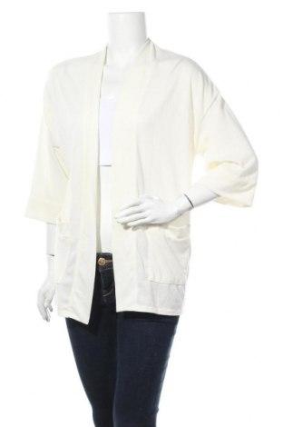Дамска жилетка Dorothy Perkins, Размер M, Цвят Бял, 97% полиестер, 3% еластан, Цена 17,68лв.