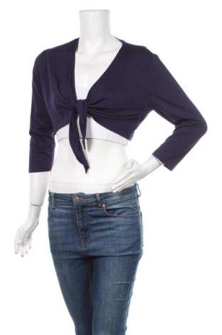 Дамска жилетка Dresses Unlimited, Размер M, Цвят Лилав, 96% вискоза, 4% еластан, Цена 6,04лв.
