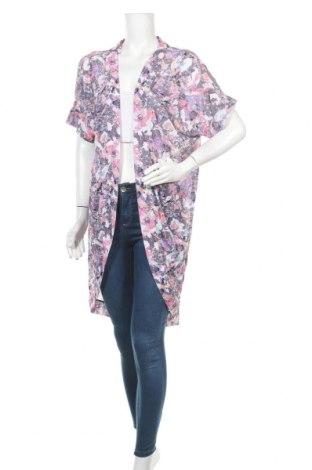Дамска жилетка Elle, Размер L, Цвят Многоцветен, 93% полиестер, 7% еластан, Цена 24,57лв.