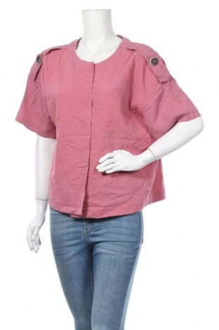Дамска жилетка Esprit, Размер XL, Цвят Розов, 48% вискоза, 35% полиестер, 17% полиамид, Цена 5,73лв.
