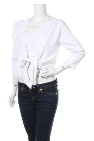 Γυναικεία ζακέτα Gina Benotti, Μέγεθος L, Χρώμα Λευκό, Βαμβάκι, Τιμή 13,64€