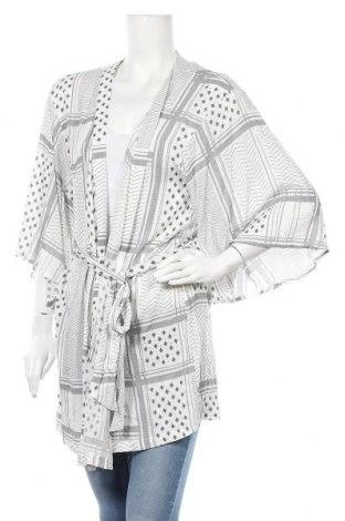 Дамска жилетка H&M, Размер L, Цвят Бял, Вискоза, Цена 7,09лв.