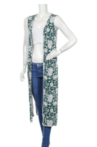 Дамска жилетка H&M, Размер XS, Цвят Бял, Вискоза, Цена 12,04лв.