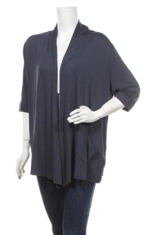 Γυναικεία ζακέτα Monari, Μέγεθος XL, Χρώμα Μπλέ, 92% βισκόζη, 8% ελαστάνη, Τιμή 10,13€