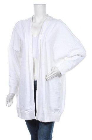 Дамска жилетка Monki, Размер S, Цвят Бял, 60% памук, 40% полиестер, Цена 51,75лв.