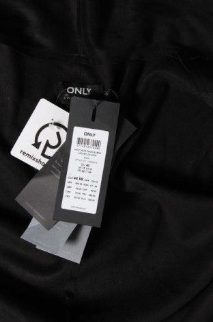 Дамска жилетка ONLY, Размер M, Цвят Черен, Полиестер, Цена 18,63лв.