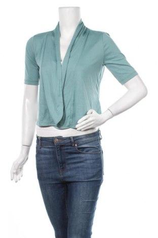 Дамска жилетка Tom Tailor, Размер XS, Цвят Син, 65% полиестер, 35% вискоза, Цена 11,03лв.