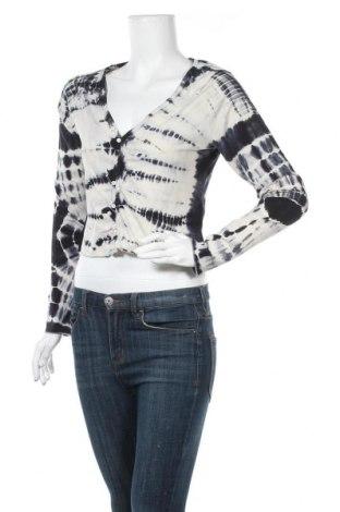 Дамска жилетка Weekday, Размер L, Цвят Многоцветен, 58% памук, 38% модал, 4% еластан, Цена 16,10лв.
