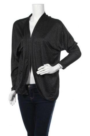 Дамска жилетка Woman By Tchibo, Размер M, Цвят Черен, 59% вискоза, 27% полиестер, 11% метални нишки, 3% еластан, Цена 7,09лв.