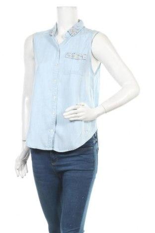 Γυναικείο πουκάμισο Abercrombie & Fitch, Μέγεθος S, Χρώμα Μπλέ, Τιμή 20,78€