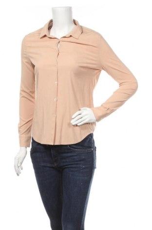 Дамска риза American Vintage, Размер S, Цвят Пепел от рози, Вискоза, Цена 17,01лв.
