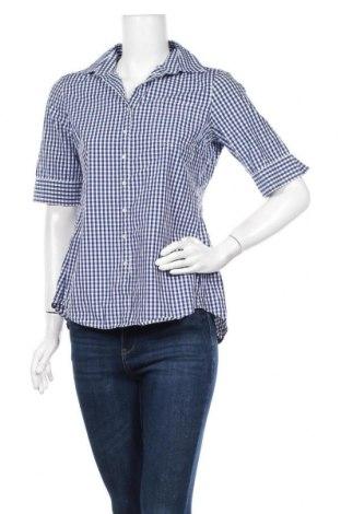 Γυναικείο πουκάμισο Banana Republic, Μέγεθος S, Χρώμα Μπλέ, Βαμβάκι, Τιμή 8,83€