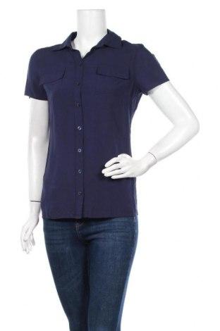 Дамска риза B.C. Best Connections, Размер S, Цвят Син, 80% вискоза, 20% памук, Цена 16,80лв.