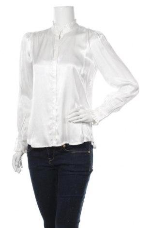 Дамска риза Bruuns Bazaar, Размер XS, Цвят Бял, Вискоза, Цена 129,00лв.