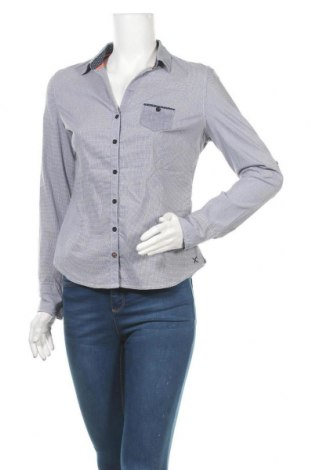 Γυναικείο πουκάμισο Cache Cache, Μέγεθος S, Χρώμα Μπλέ, 70% βαμβάκι, 27% πολυεστέρας, 3% ελαστάνη, Τιμή 6,43€