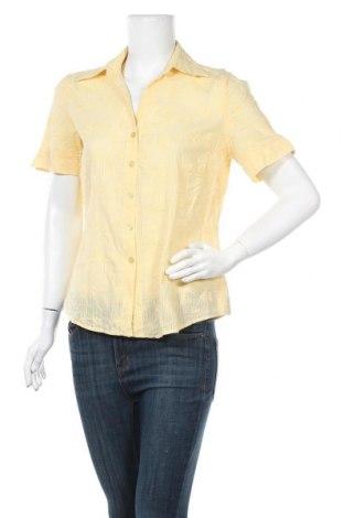 Дамска риза Canda, Размер L, Цвят Жълт, Памук, Цена 16,80лв.