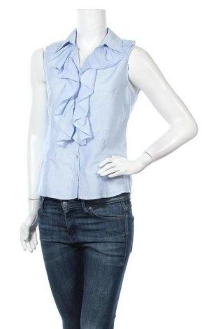 Γυναικείο πουκάμισο Caroll, Μέγεθος M, Χρώμα Μπλέ, 75% βαμβάκι, 25% μετάξι, Τιμή 17,66€