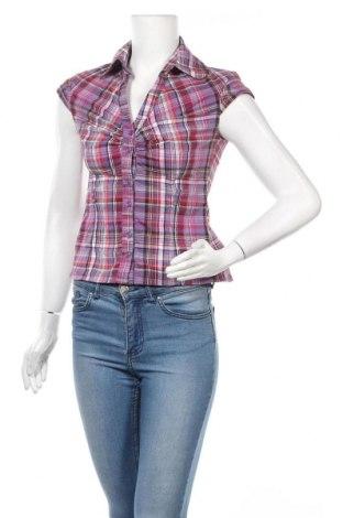 Γυναικείο πουκάμισο Clockhouse, Μέγεθος S, Χρώμα Πολύχρωμο, 64% βαμβάκι, 32% πολυεστέρας, 4% ελαστάνη, Τιμή 12,96€