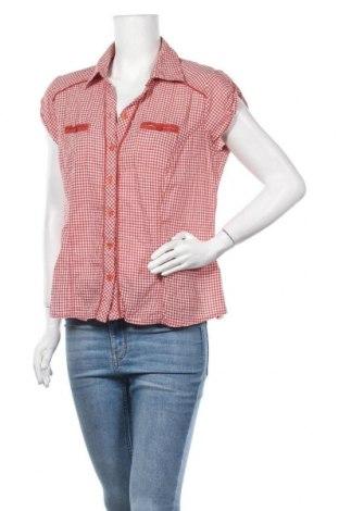 Дамска риза Colours Of The World, Размер L, Цвят Червен, Памук, Цена 11,76лв.